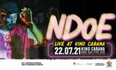 Концерт на NDOE на 22 Юли в Кино Кабана