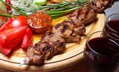 Пилешка или свинска шпага, плюс пържени картофки - с до 61% отстъпка