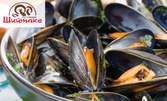 Черноморски миди натюр, сафрид или сотирани бейби октоподчета