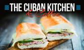 Сандвич Кубано, плюс домашна лимонада по избор