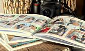 Фотокнига с твърди корици, по избор - с 60 или 100 снимки
