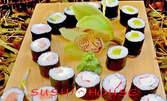 Суши сет Хосо Маки с 24 хапки, плюс соев сос, уасаби и джинджифил