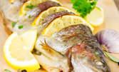 Скумрия на скара с картофена салата - лятно хапване
