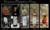 Бутилка вино с дизайнерски персонализиран етикет