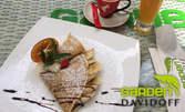 Кафе Davidoff, плюс фреш и палачинка по избор