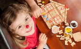 """Весели игри и забавления за най-малките! 2 часа импровизиран театър по народната приказка """"Дар от сърце"""""""