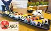 """С вкус от далечна Япония! Суши сет """"Асахи"""" с 22 хапки - по авторска рецепта на Шеф Лозев"""