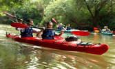 Eднодневно приключение с каяк по река Камчия или във Варненски залив, плюс обяд, фото и видео заснемане