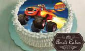 Домашна торта с 12 парчета - с фотодекорация и сметанов борд, по избор от каталог