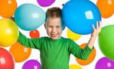 Детски рожден ден за до 10 деца с напитки, торта, украса и аниматор
