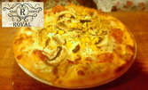 Салата и пица