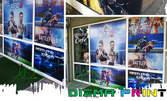 Външна реклама на вашия бизнес! 1кв.м PVC фолио или перфо фолио - за прозорци на магазини, витрини, автостъкла