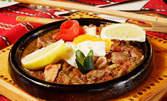 1кг апетитно хапване! Калугерско саче с пилешко и свинско