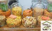 500гр микс печени български ядки - лешник, бадем и фъстък