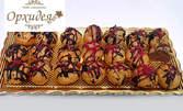 50 пресни еклерчета с млечен и портокалов шоколад