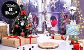 Коледна фотосесия в студио - с 5, 10 или 15 обработени кадъра и възможност за календар и принтирани снимки