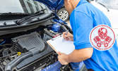 Компютърна диагностика и изчистване на грешки на лек или тежкотоварен автомобил (до 3,5 тона), плюс цялостен преглед