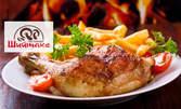 Пилешко бутче по тракийски или тънки балкански наденички на скара