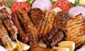 Мешано селско плато - апетитни наденички, суджук, карначе и картофки