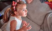 За спомен от най-сладките години на детето ти! Фотозаснемане на детски рожден ден с 25 или 50 обработени кадъра и всички необработени кадри