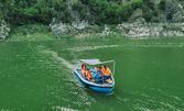 Едночасова разходка с лодка в язовир Цанков Камък за до 8 човека