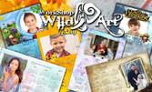 Еднолистов детски календар с пълноцветен висококачествен дигитален печат, с дизайн на клиента