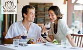 Избери своите вкусотии! Салата, специалитет и десерт