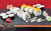Екзотичен вкус! Суши сет с 16 хапки