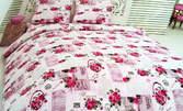 Спален комплект от 100% хасе - размер и десен по избор