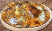 Мини понички с крем, солена питка или наложен бюрек