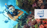 Опознай морето! 1 гмуркане с програма Try Scuba Diving край Созопол