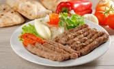 """1120гр плато """"Мешана скара"""" с вкусно месце, пържени картофки и зимна разядка"""