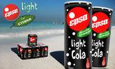 Свежа и ободряваща напитка! 8 броя Cola Light със стевия в кен от 330мл
