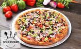Пица и десерт по избор - по автентична италианска рецепта
