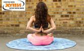 4 или 8 посещения на Хатха йога за начинаещи, плюс релаксация с Тибетски купи