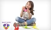 Месечна карта с 8 посещения на квилинг и оригами за деца