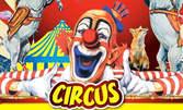 Вход за спектакъл на Цирк Арлекино с 40 животни - от 17 Юли до 16 Август