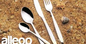 Комплект прибори за хранене Zephyr ZP от неръждаема стомана - в 30 части