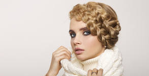 Детско подстригване и сплитане на плитка, терапия за коса, подстригване или боядисване
