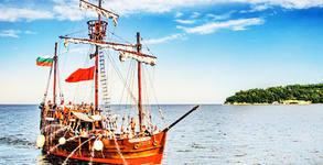Пиратски круиз на Кораб Pinta Varna на 24 или 25 Август, във Варненския залив