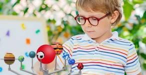 """Коледен подарък за малчугана! Детска игра """"Слънчева система - планети за оцветяване"""""""