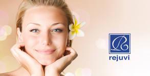 Ултразвуково и мануално почистване на лице с Rejuvi