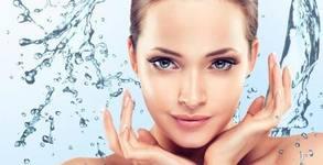 Хидратираща процедура за лице с ампула, моделиращ масаж и златна алгинатна маска