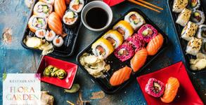 На суши в Балчик! Сет с 40, 60 или 100 хапки