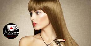 Изправяне на коса или букли със Steampod, плюс масажно измиване и възстановяваща маска на L'Oreal