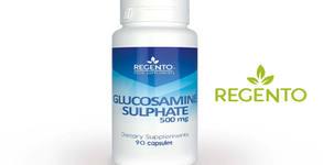 Грижа за ставите и сухожилията! Хранителна добавка Glucosamine Sulphate Regento