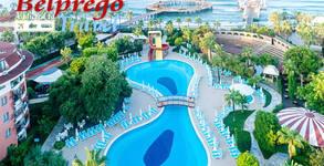 Лукс край Алания! 7 нощувки на база Ultra All Inclusive в Palmeras Beach Hotel*****