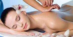 Аромамасаж на цяло тяло с букет от етерични масла и масаж на скалп, плюс рефлексотерапия на стъпала