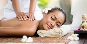 Масаж на цяло тяло по избор - без или със рефлексотерапия на ходила или масаж на лице, шия и деколте