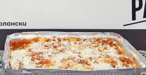 Прясна паста за вкъщи! 500гр пресни канелони с месо или 1000гр лазаня с биволска моцарела